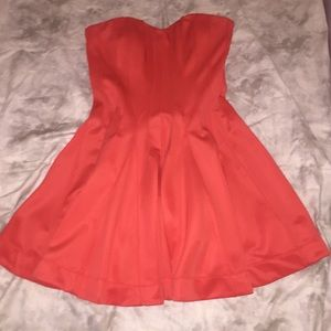 Betsey Johnson Sweetheart Strapless Dress